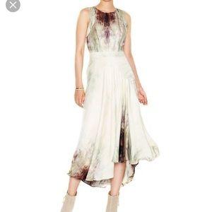 Rachel Roy Watercolor Hi low Dress